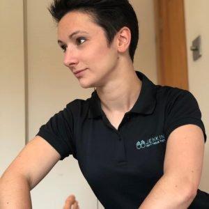 massage therapist delivering deep tissue massage